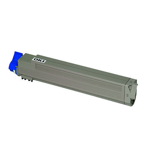 Oki Yellow Toner Cartridge (22 000 Page Capacity) 43837129
