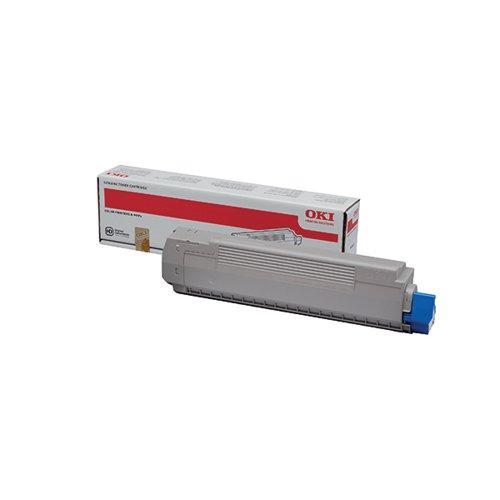 Oki Yellow Toner Cartridge (10 000 Page Capacity) 44059253