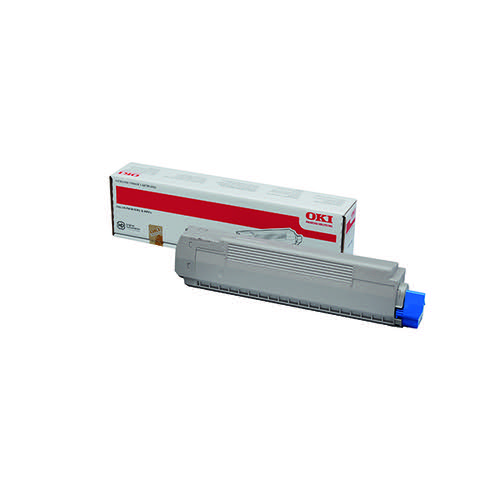 Oki Black Toner Cartridge (9,500 Page Capacity) 44059256