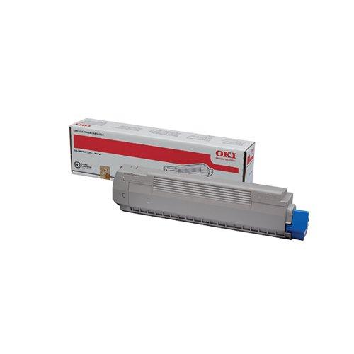 Oki Magenta Toner Cartridge (7300 Page Capacity) 44059166