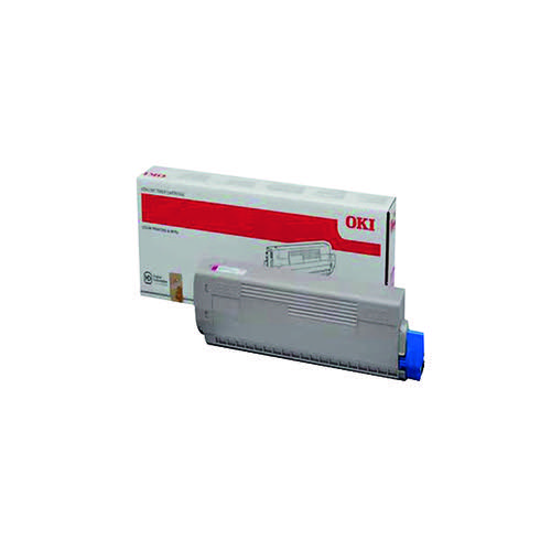 Oki Magenta Toner Cartridge (10 000 Page Capacity) 44844506