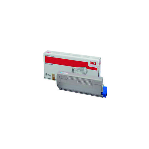 Oki Black Toner Cartridge (10000 Page Capacity) 44844508