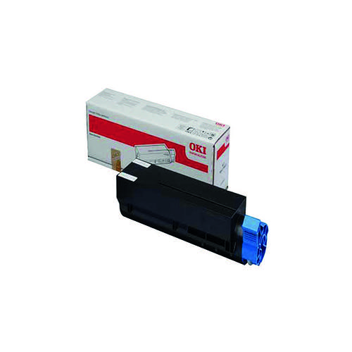 Oki Black Toner Cartridge (1500 Page Capacity) 44992401