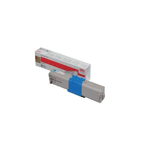 Oki Cyan Toner Cartridge (1500 Page Capacity) 44973535