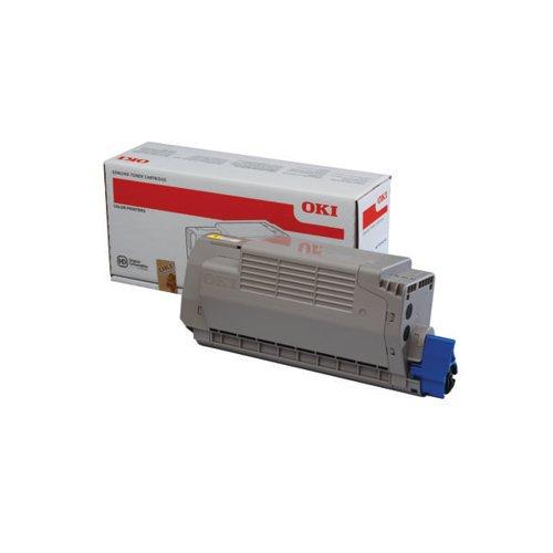 Oki MC760/MC770/MC780 High Capacity Laser Yellow Toner Cartridge 45396201