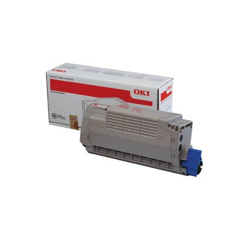 Oki MC760/MC770/MC780 High Capacity Laser Magenta Toner Cartridge 45396202