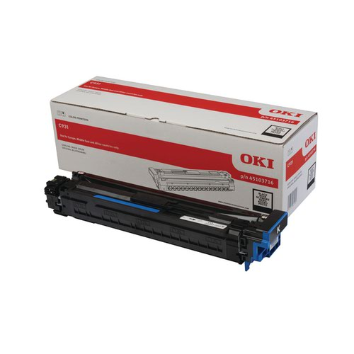 Oki Black Image Unit Drum (40000 Page Capacity) 45536508