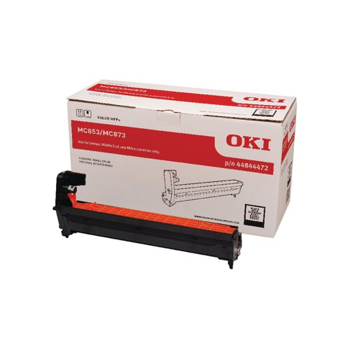 Oki MC853 MC873 Black Drum 30000 Pages 44844472