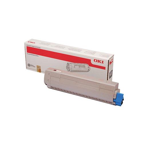 Oki MC853 MC873 Black Toner 7000 Pages 45862840