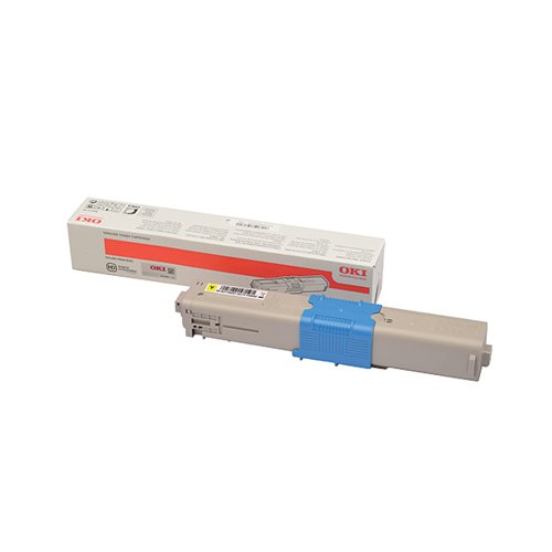 Oki C332 Yellow Toner MC363 3k 46508709