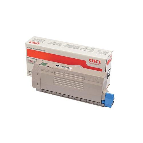 Oki C712 Black Laser Toner Cartridge (11 000 page yield) 46507616
