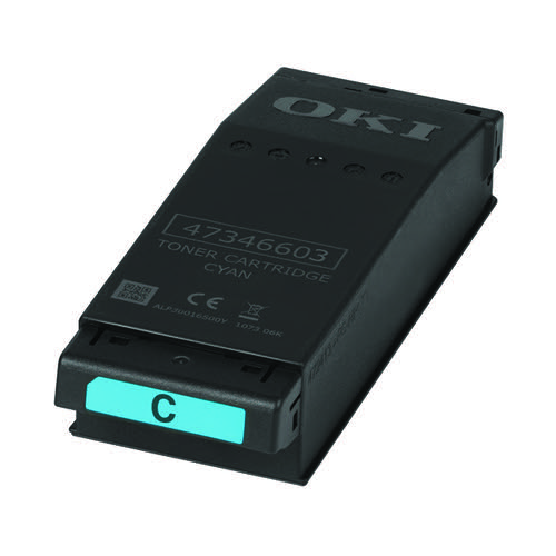 Oki Cyan Toner Cartridge 6000 Pages C650 09006127