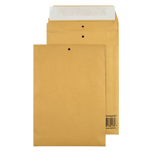 GoSecure Manilla C5 Gusset Pocket Envelope 140gsm (Pack of 100) REPDC5