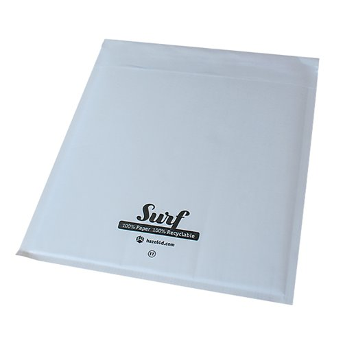 GoSecure Size G4 Surf Paper Mailer 240mmx330mm White (Pack of 100) SURFG4