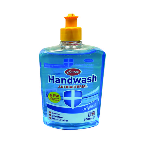 Certex Anti Bacterial Hand Wash Original 500ml TOCER001