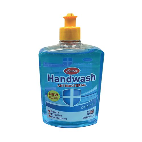 Certex Hand Wash Anti Bacterial Original 500ml TOCER001