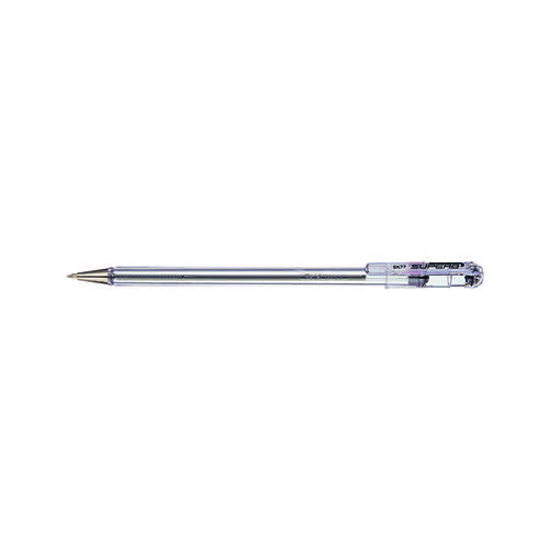 Pentel Superb Ballpoint Pen Fine Black (Pack of 12) BK77-A
