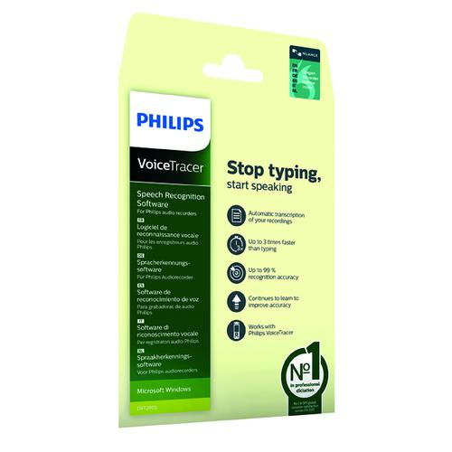 Philips Speech Recognition Software DVT2805