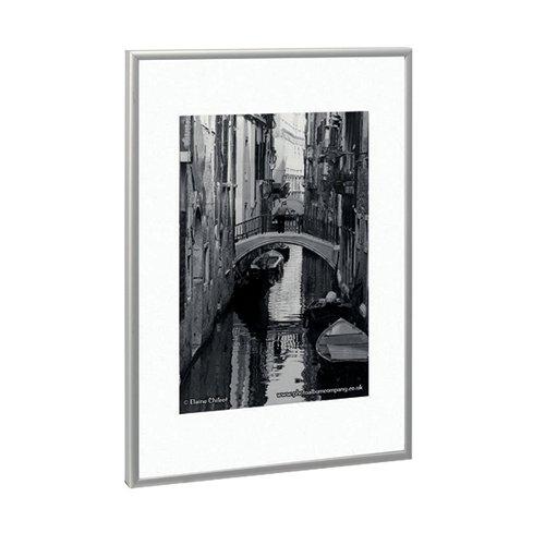 TPAC Photo Aluminium Certificate Frame A2 Silver PAAFA2B