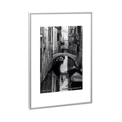 TPAC Photo Aluminium Certificate Frame A1 Silver PAAFA1B