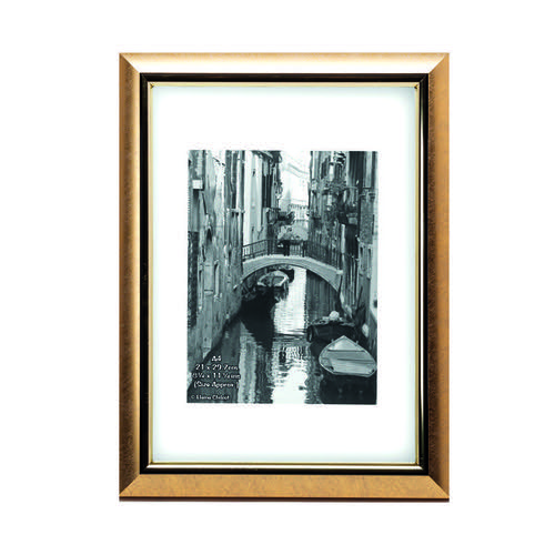 TPAC Photo Modern Certificate Frame A4 Gold PELA4GLD-NG