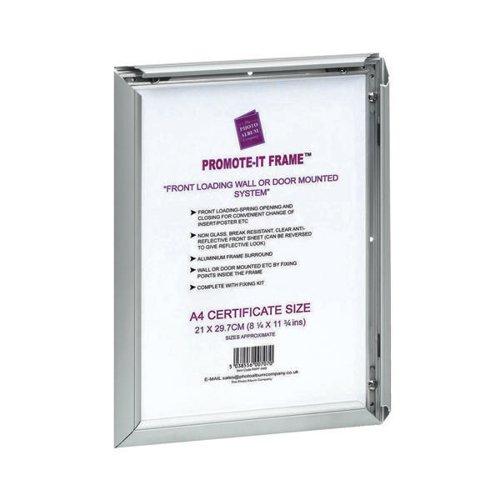 TPAC Photo Promote It Frame A1 Aluminium (Non-glass break-resistant cover) PAPFA1B
