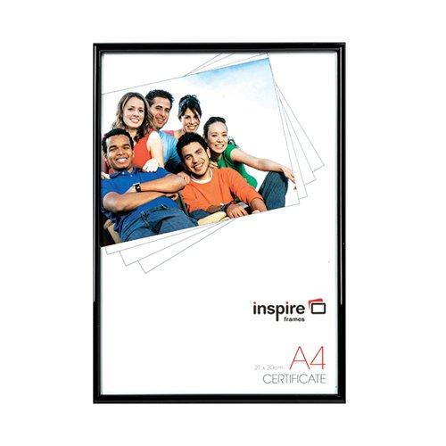 TPAC Photo Back Loader Frame A4 Black BLRA4BK