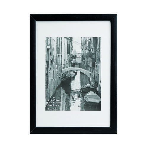 Photo Album Co Black Wood Certificate Frame Non Glass KENTA4NG