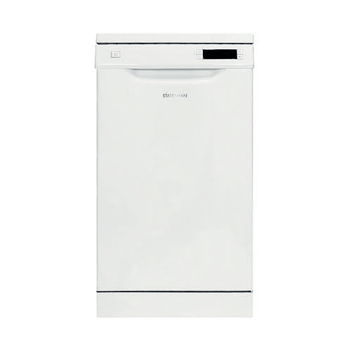 Statesman Dishwasher 9 Place Settings 45cm (6 wash programmes, Eco at 50 degrees) SFD10P