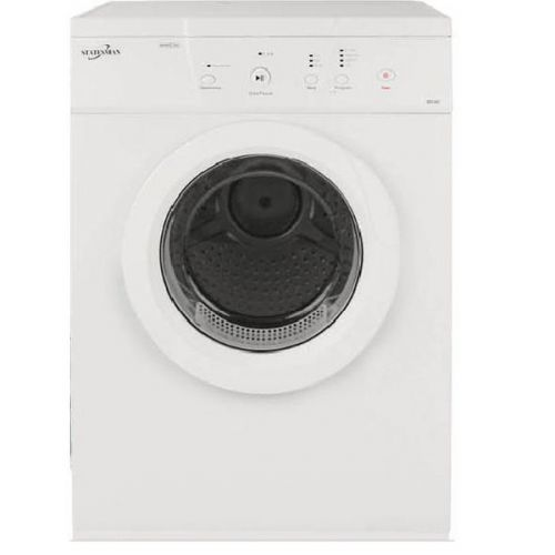 8kg Condenser Tumble Dryer White TVM07W