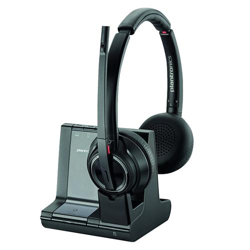 Plantronics Savi 8220 Wireless Headset Binaural MS 207326-02