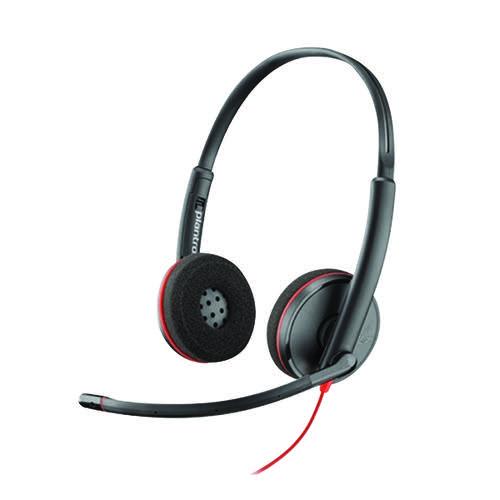 Plantronics Blkwire C3220 USB-C Headset 209749-101