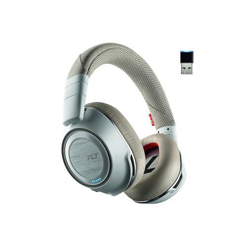 Plantronics Voyager 8200 Wireless Headset Binaural UC White 208769-02