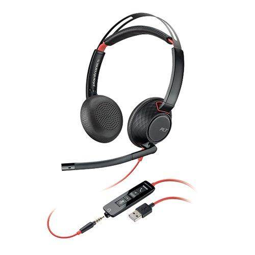 Plantronics Blackwire 5220 C5220 WW Headset 207576-201