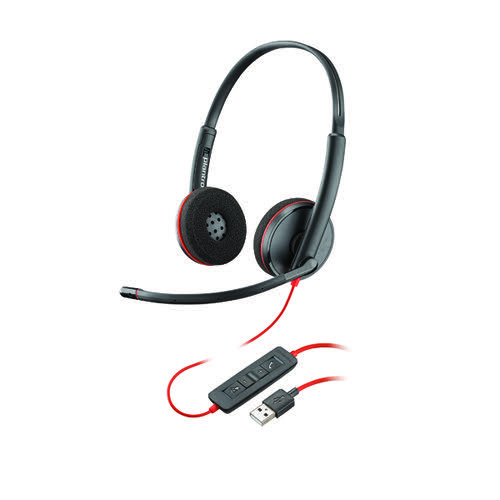 Plantronics Blackwire Binaural C3220 usb-a 209745-201