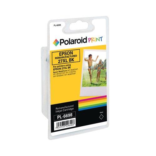 Polaroid Epson 27XL Remanufactured Inkjet Cartridge Black T271140-COMP PL