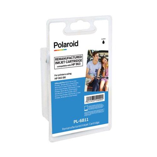 Polaroid HP 963 Black Inkjet Cartridge 1000 Pages 3JA26AE-COMP