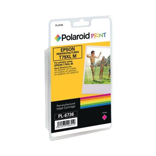 Polaroid Epson 79XL Remanufactured Inkjet Cartridge Magenta T790340-COMP PL