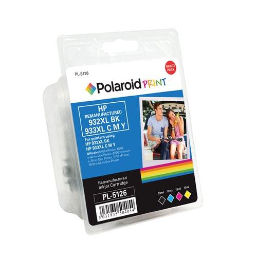 Polaroid HP 923XL Remanufactured Inkjet Cartridge Black/Cyan/Magenta/Yellow (4 Pack) C2P42AE-COMP PL