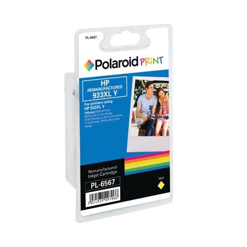 Polaroid HP 933XL Remanufactured Inkjet Cartridge Yellow CN056AE-COMP PL
