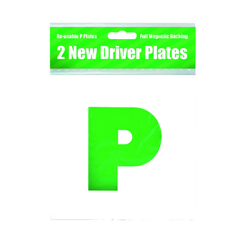 2 Magnetic P Plates (Pack of 10) C399