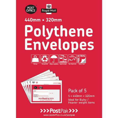 Polythene 440x320 Envelopes (Pack of 20) 101-3485
