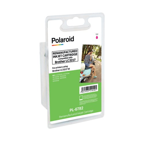Polaroid Brother LC3217 Magenta Inkjet Cartridge LC3217M-COMP