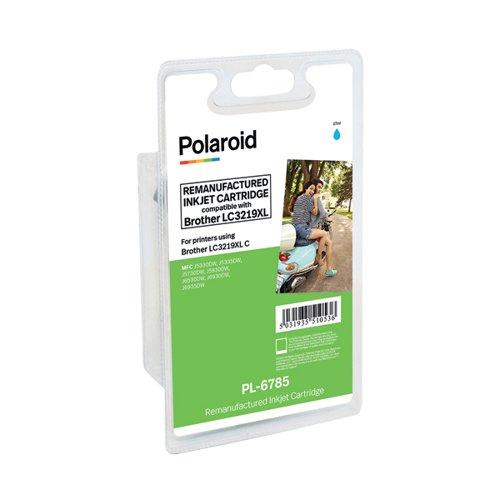 Polaroid Brother LC3219XL Cyan Inkjet Cartridge LC3219XLC-COMP