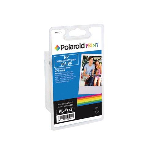 Polaroid HP 303 Remanufactured Inkjet Cartridge Black T6N02AE-COMP PL