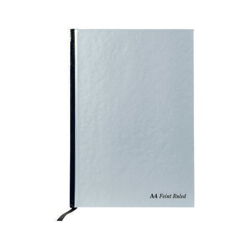 1 x Pukka Pad Ruled A4 Case bound Pad 192 pages 90 gsm 8 mm Ruled /& Margin