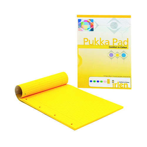 Pukka Pad A4 Refill Pad Gold (Pack of 6) IRLEN50