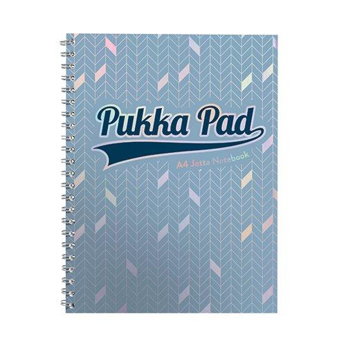 Pukka Pad Glee Jotta Pad Light Blue A4 (Pack of 3) 3009-GLE