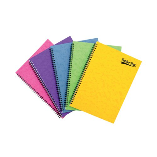 Pukka Notemakers Sidebound A4 Assorted (Pack of 10) 7268-PRS