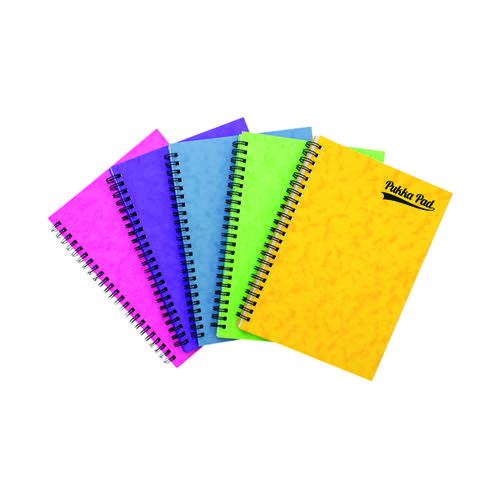 Pukka Notemakers Sidebound A5 Assorted (Pack of 10) 7271-PRS